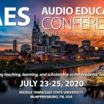 AES Audio Edu Conf 2020