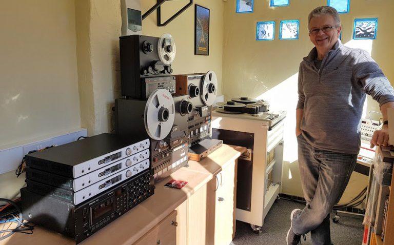 Graham Joiner With Titans in Studio